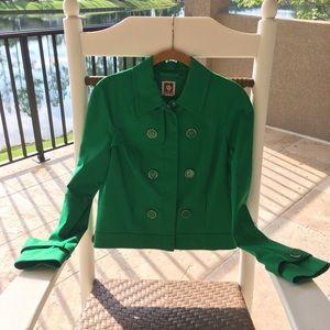 Anne Klein zippered short  jacket